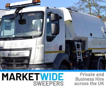 Road Sweeper Hire from the Road Sweeper Network